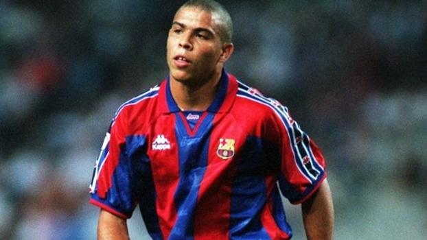 Ronaldo fez 2 gols, e Barcelona venceu Real Sociedad em 1996; relembre