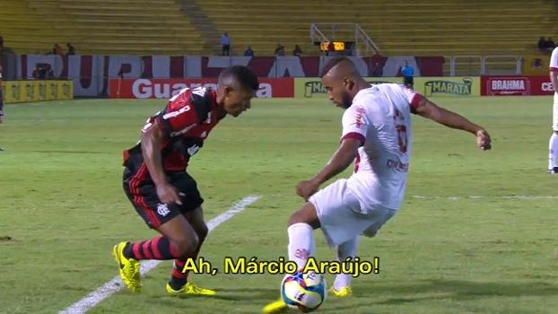 Márcio Araújo tem nome entoado por torcedores do Fla contra o Bangu