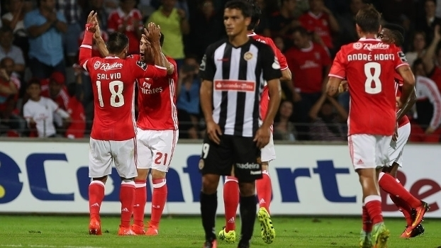 Português: Gols de Nacional 1 x 3 Benfica