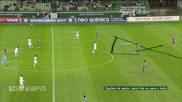 Falta de objetividade e desorganização defensiva; DataESPN analisa Palmeiras contra Chapecoense