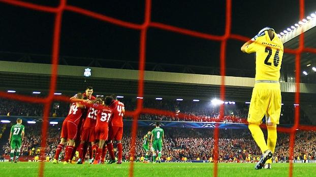 Visão além da Champions: Corajoso, Ludogorets ficou no quase em dia especial para o Liverpool, em Anfield