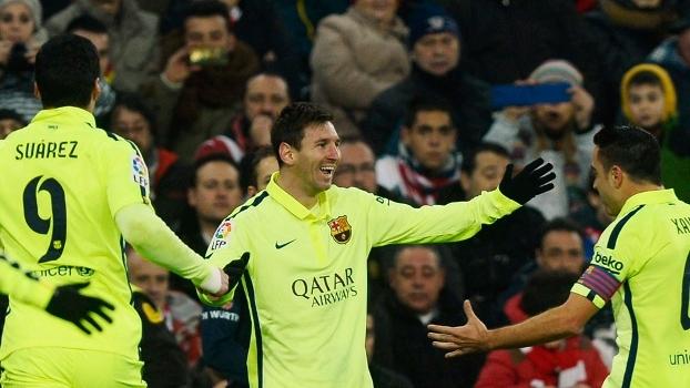 Espanhol: Melhores momentos de Athletic Bilbao 2 x 5 Barcelona