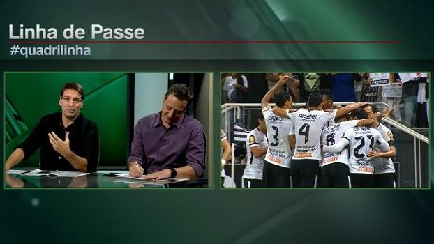'Todo jogo desse Corinthians é, em tese, chato', diz Arnaldo; Gian espera 'jogo muito interessante' com Santos