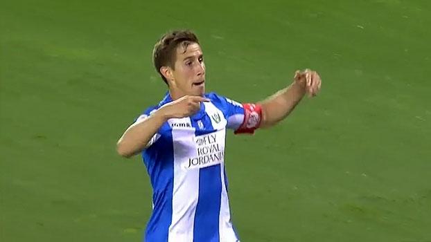 Com gol  brasileiro do meio de campo, Leganés anota pinturas, goleia o Betis e sai da zona de rebaixamento