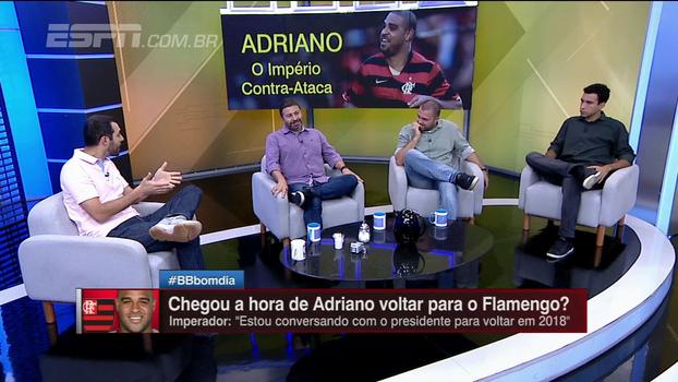 Breiller sugere que Fla convença Adriano a ser embaixador