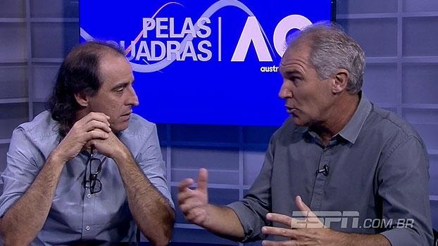 'Pelas Quadras' analisa queda de brasileiros e Meligeni destaca mudança no estilo de parceiro