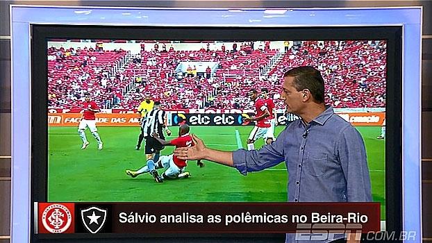 Sálvio analisa polêmicas do jogo no Beira-Rio: 'Não foi falta pra expulsão'