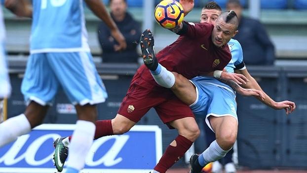 Quarta, 17h45, acompanhe Lazio x Roma na ESPN Brasil e no WatchESPN, pela Copa Itália