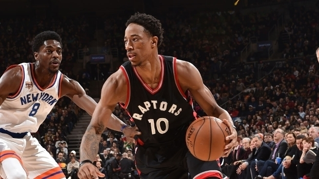 NBA: Lances de Toronto Raptors 116 x 101 New York Knicks