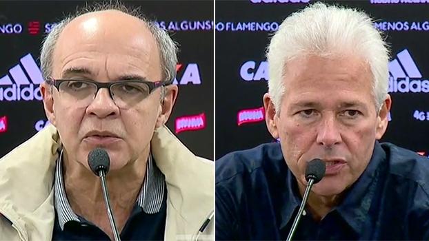 Presidente do Fla confirma saída de Muricy; vice de futebol elogia Abel Braga, mas não dá prazo para novo técnico