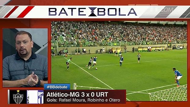 Bertozzi e Alê elogiam vitória do Atlético-MG, mas destacam fragilidade do URT: 'Esse não é o jogo d