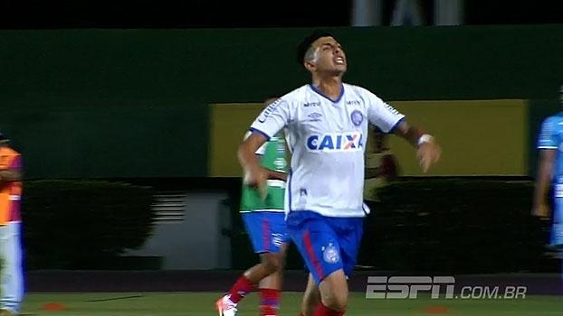 Inter sai na frente com golaço, mas Bahia busca empate com um a menos na Copa do Brasil Sub-20