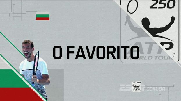 ATP 250 de Estocolmo: Lances de Grigor Dimitrov 2 x 0 Mischa Zverev