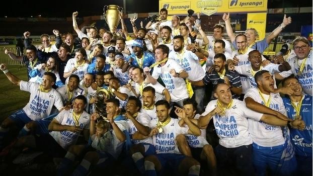Novo Hamburgo derruba Inter e conquista estadual pela 1ª vez;  veja belas imagens do campeão gaúcho
