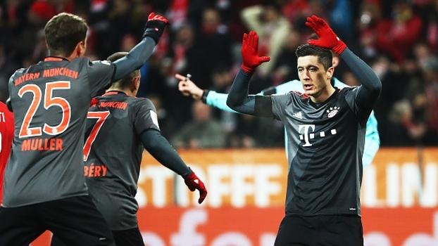 Bundesliga: Gols de Mainz 1 x 3 Bayern de Munique