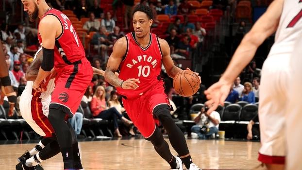 Raptors vencem Heat com novo show de DeRozan, e Spurs batem Grizzlies; veja o resumo da NBA