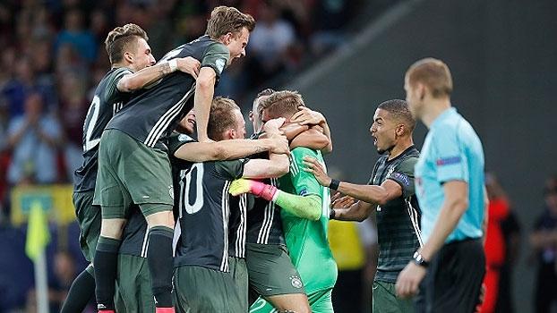 Assista aos gols da vitória da Alemanha sobre a Inglaterra por 4 a 3 nos pênaltis!