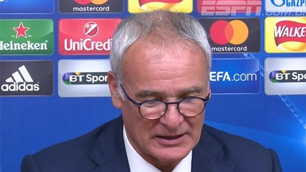 Ranieri destaca apoio da torcida, mas pede pés no chão ao Leicester