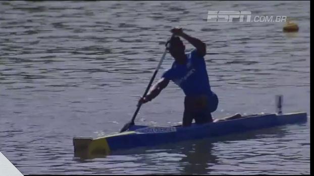 Isaquias Queiroz fatura a prata no C1 200m do Mundial sub-23