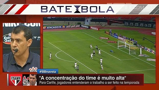 Carille analisa vitória do Corinthians e comemora: 'Estamos crescendo'