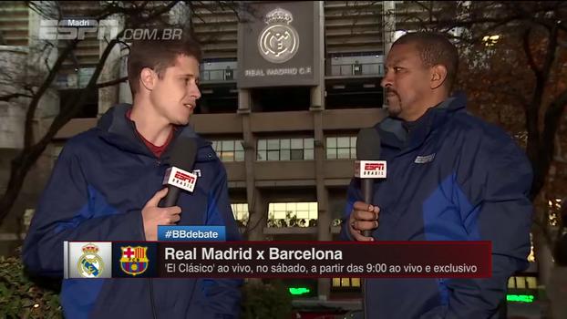 De Madri, Zé Renato e Djalminha falam sobre clássico entre Real x Barcelona