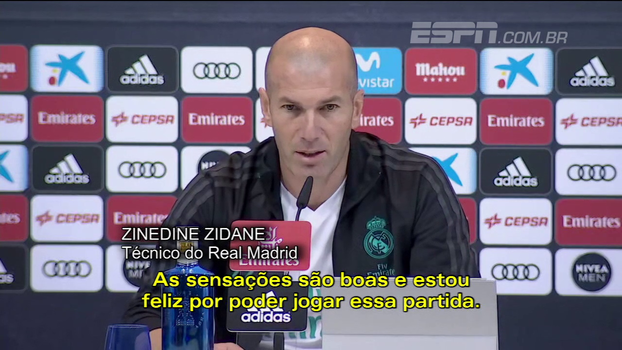 Zidane diz que CR7 está focado no clássico; Valverde ressalta potência em casa do Real