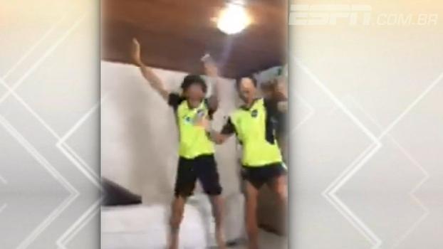 Veja a reação espetacular de Camilo ao saber que foi convocado para a seleção brasileira