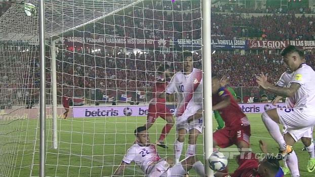 O gol que não entrou (nem um pouco): Panamá marca em lance com bate-rebate, voo de cerveja e muita reclamação