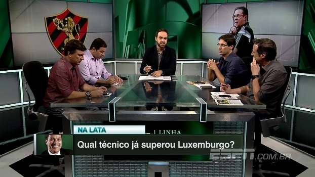 Qual técnico já superou Vanderlei Luxemburgo? 'Linha de Passe' opina