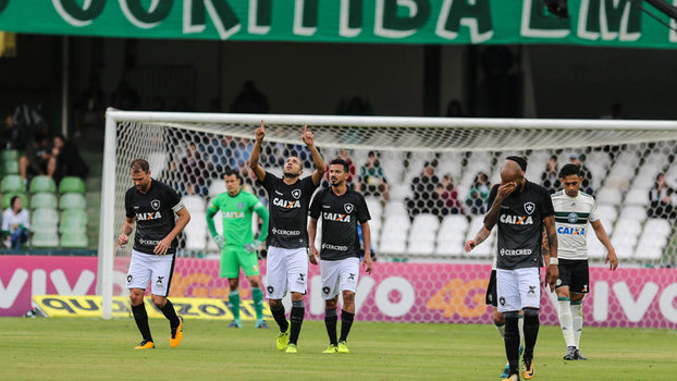Confira os gols de Coritiba 2 x 3 Botafogo