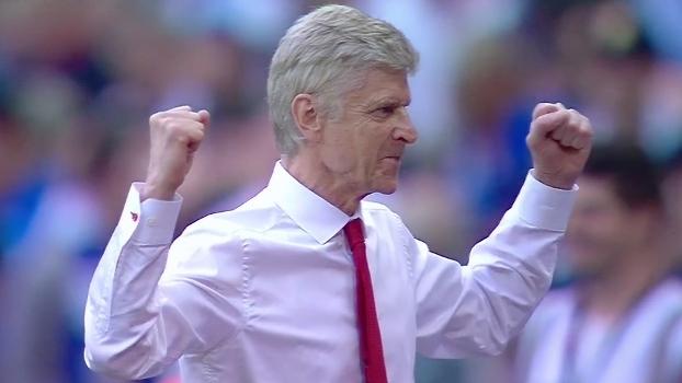 Wenger resume a sensação de permanecer no Arsenal: 'Feliz e animado'