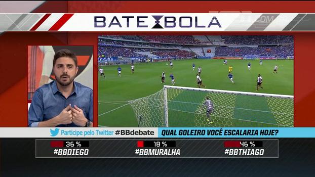Jorge Nicola não tem dúvida: escalaria Diego Alves no gol do Flamengo na Sul-Americana