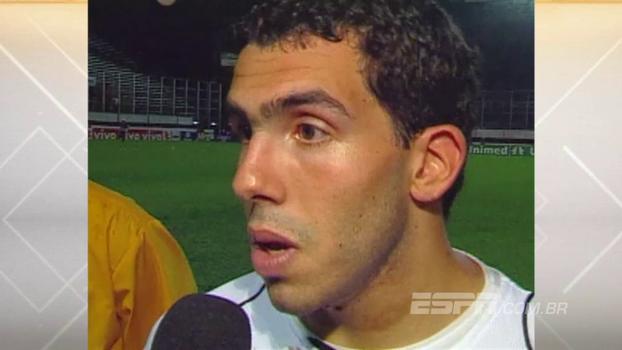Há 12 anos, Corinthians contou com gols de Nilmar e Tévez para vencer o Fla no Luso-Brasileiro
