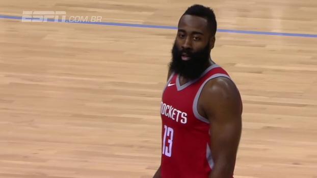James Harden anota 29 pontos, Chris Paul vai bem, e dupla lidera vitória dos Rockets sobre os Grizzlies