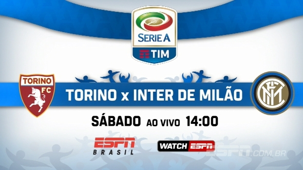 Italiano: acompanhe Torino x Inter neste sábado, 14h, na ESPN Brasil e no WatchESPN