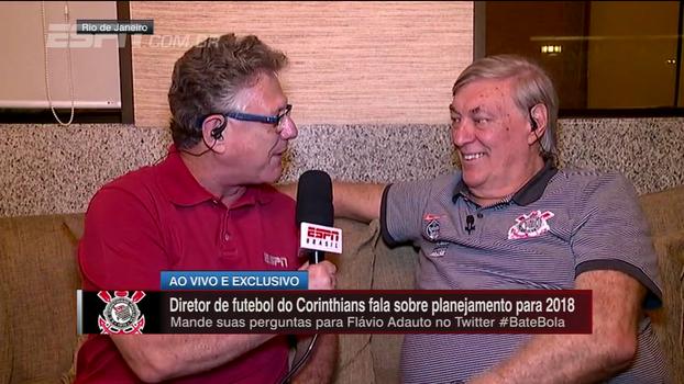 Exclusivo: Flávio Adauto fala sobre festa do título, planejamento para 2018, vai e vem de jogadores e mais