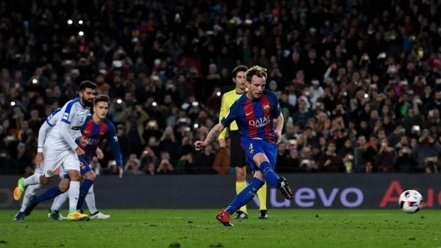 Copa do Rei: Gols de Barcelona 7 x 0 Hércules