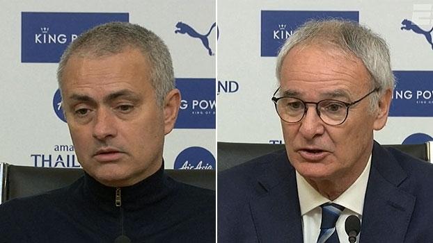 Mourinho destaca partida 'sólida' do United; Ranieri: 'Vamos lutar até o fim'