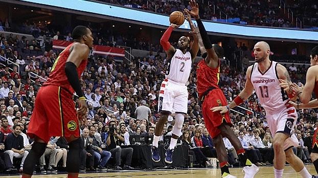 NBA: Lances de Washington Wizards 103 x 99 Atlanta Hawks