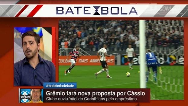 Jorge Nicola traz a informação que Cássio pode trocar o Corinthians pelo Grêmio