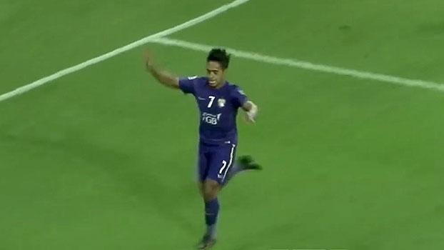 Brasileiro marca e classifica Al Ain diante do Lokomotiv Tashkent na Champions Asiática
