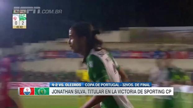Assista aos gols de Oleiros 2 x 4 Sporting