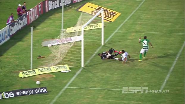 Assista aos gols do empate entre Guarani e ABC por 1 a 1!