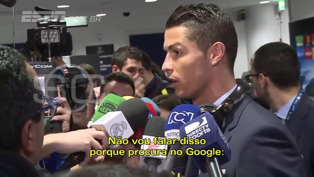 Cristiano Ronaldo está tranquilo com derrotas do Real: 'No final das contas, veremos quem vai ganhar'