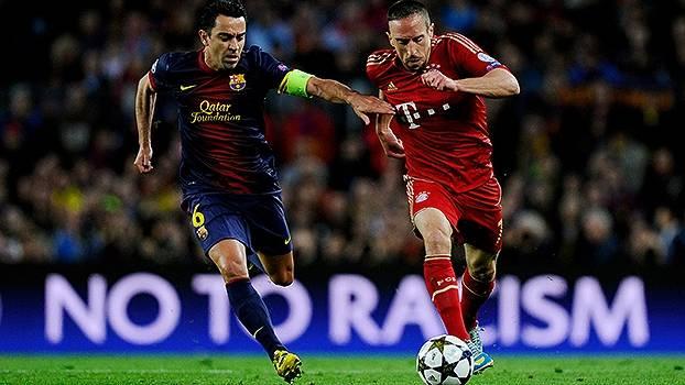 Na Champions 2012/13, Bayern atropelou Barcelona nos dois jogos das semifinais
