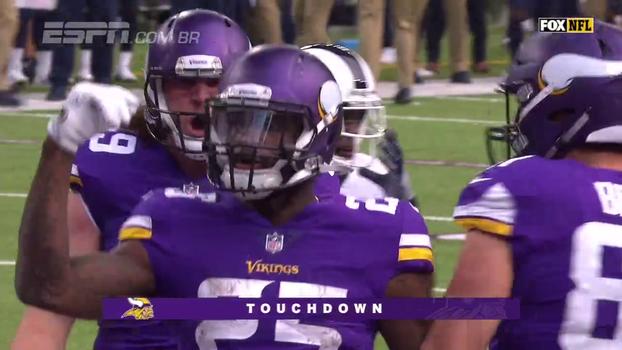 Veja lances de Minnesota Vikings 24 x 7 Los Angeles Rams