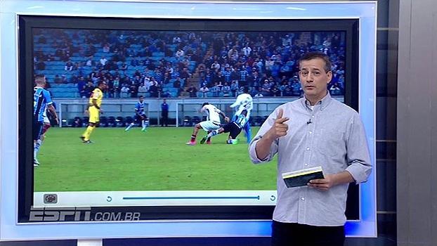 Pênalti para o Flu e cartão vermelho para Scarpa; Sálvio analisa arbitragem na Arena do Grêmio