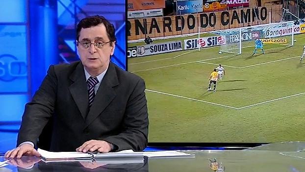 Antero desaprova nível do jogo entre São Bernardo e São Paulo: 'Não foi legal'