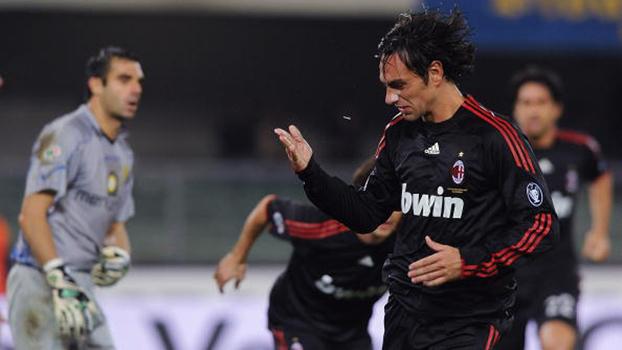 Nesta fez 2 gols em 10 minutos, e Milan venceu Chievo de virada em 2009; reveja