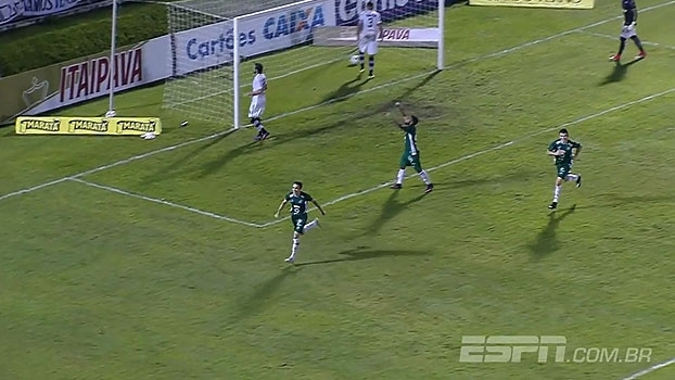Série B: Gol de ABC 0 x 1 Guarani